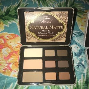 Too Faced natural matte eyeshadow pallet